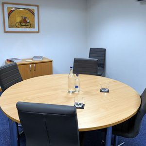 Various meeting rooms from large to small
